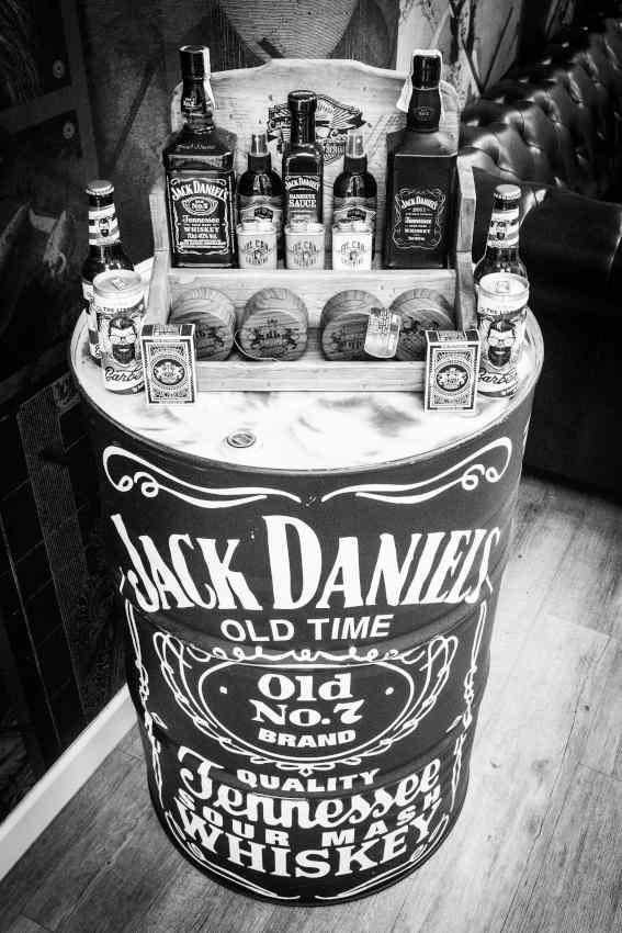 diferentes productos de Jack Daniels