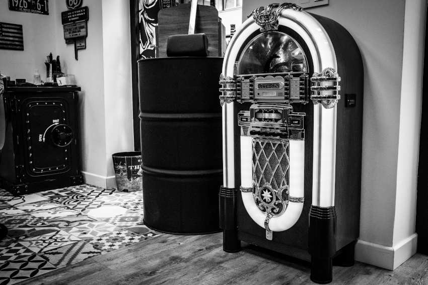 Máquina de música decorativa